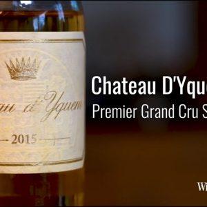 Chateau D'Yquem 2015 Premier Grand Cru Sauternes, 375ml- Half Bottle  521016815