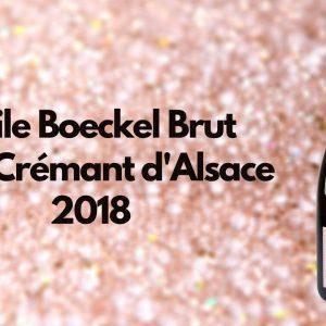 Emile Boeckel Brut Rosé Crémant d'Alsace 2018