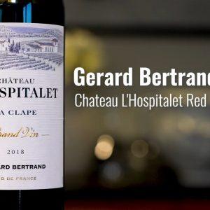 Gerard Bertrand 2018 Chateau L'Hospitalet Red, La Clape, Languedoc