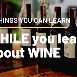 6 things you can learn WHILE you learn about wine (WINE HISTORY, WINEMAKING, WINE PAIRING AND MORE)