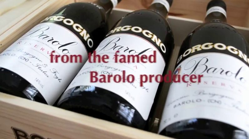 Introducing Borgogno's Barolo Riserva Vertical Collection