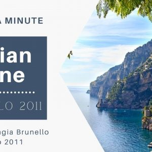 Italy Wine Tasting || Brunello di Montalcino 2011