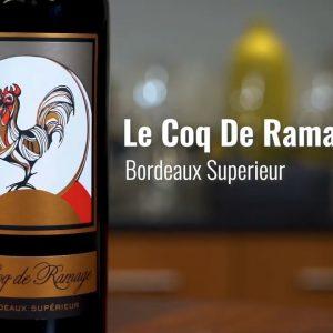 Le Coq De Ramage 2016 Bordeaux Superieur