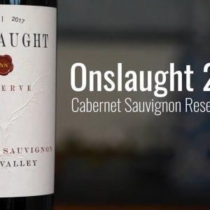 Onslaught 2017 Cabernet Sauvignon Reserve, Napa Valley