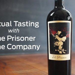 Taste LIVE with The Prisoner Wine Company
