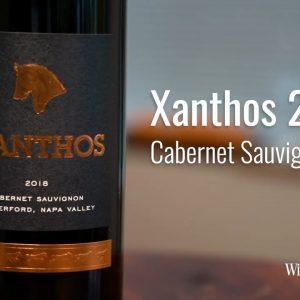 Xanthos 2018 Cabernet Sauvignon, Rutherford, Napa Valley