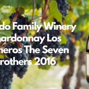 Robledo Family Winery Chardonnay Los Carneros The Seven Brothers 2016