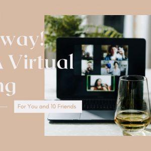 Virtual Wine Tasting Giveaway