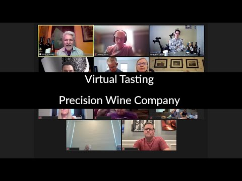 Taste LIVE with Precision Wine Company