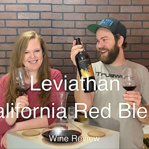 Tasting Wine reviews Leviathan Red Blend