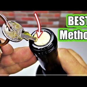 5 Ways to Open a Wine Bottle 🔴 NEW
