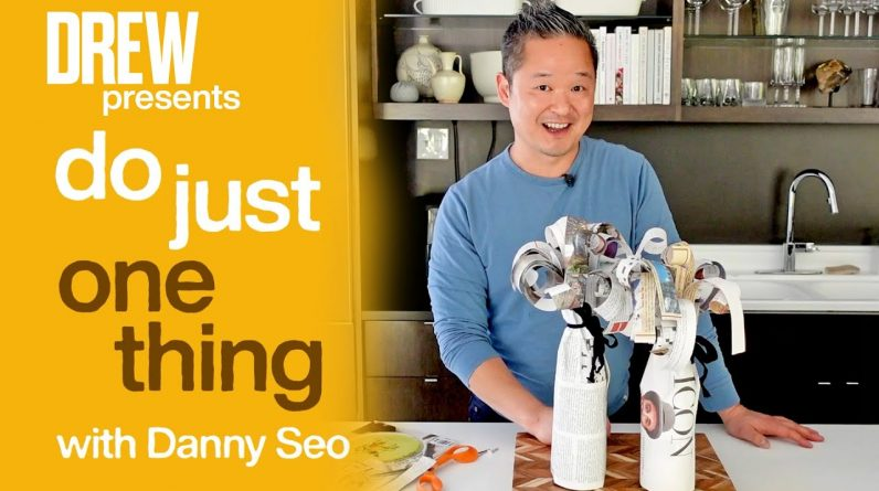 Danny Seo Shows the Eco-Friendly Way to Gift Wrap a Wine Bottle | Do Just One Thing