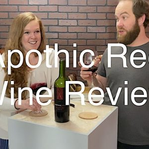 Tasting Wine reviews Apothic Red